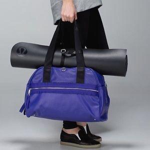 Lululemon Flow to Om Bag Purple RARE